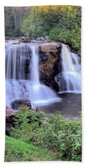 Hand Towel featuring the photograph Blackwater Falls by Gordon Elwell