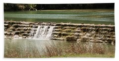 Blanco River Weir Bath Towel
