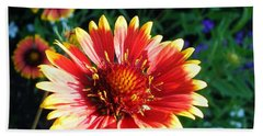 Blanket Flower Hand Towel