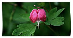 Bleeding Heart Bath Towel