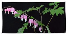 Bath Towel featuring the photograph Bleeding Hearts 2 by Jeannie Rhode