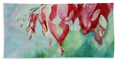 Bleeding Hearts Bath Towel