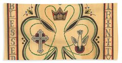 Blessed Trinity Bath Towel