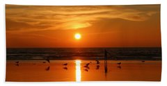Bliss At Sunset   Hand Towel