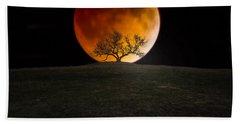 Blood Moon Bath Towel