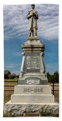 Bloody Cedars Civil War Memorial Bath Towel
