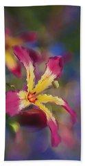 Bloomin Hong Kong Orchid Hand Towel