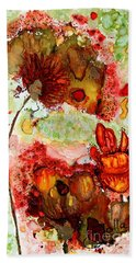 Blooming Impressions.. Hand Towel by Jolanta Anna Karolska