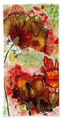 Blooming Impressions.. Hand Towel