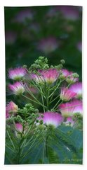 Blooms Of The Mimosa Tree Hand Towel