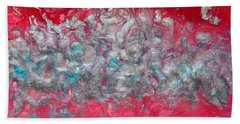 Blossom Abstract Bath Towel