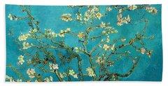 Blossoming Almond Tree Bath Towel