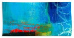 Acrylic Paintings Hand Towels