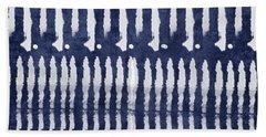 Blue Dots Hand Towels