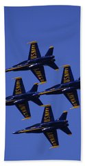 Blue Angels Hand Towel
