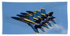 Blue Angels Echelon Hand Towel