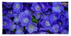 Blue Bells Carpet. Amsterdam Floral Market Hand Towel
