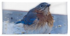 Blue Bird 4 Bath Towel