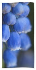 Blue Blossoms Bath Towel