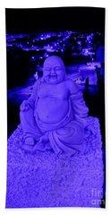 Blue Buddha And The Blue City Hand Towel