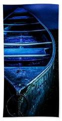 Blue Canoe Hand Towel
