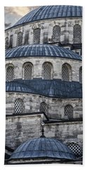 Blue Dawn Blue Mosque Bath Towel