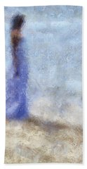 Blue Dream. Impressionism Hand Towel