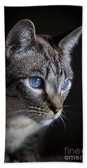 Blue Eyes Hand Towel