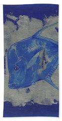 Blue Fish Hand Towel