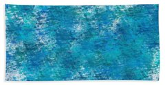 Hand Towel featuring the digital art Blue Haze... by Tim Fillingim