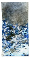 Blue Mold Bath Towel