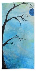 Blue Moon Hand Towel
