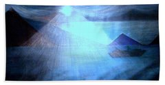 Blue Moon Sailing Bath Towel