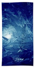 Hand Towel featuring the photograph Blue by Richard Thomas