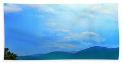 Hand Towel featuring the photograph Blue Ridge Mountains by Judy Palkimas