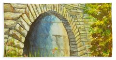 Blue Ridge Tunnel Hand Towel