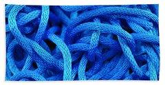 Blue Rope Bath Towel