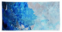 Bath Towel featuring the photograph Blue Rust by Randi Grace Nilsberg