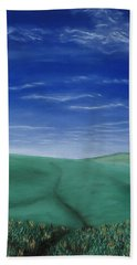 Blue Skies Ahead Bath Towel