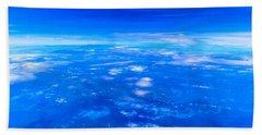 Blue Sky Bath Towel