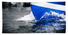 Bath Towel featuring the photograph Blue Waters by Sotiris Filippou