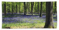 Bluebell Wood Uk Bath Towel