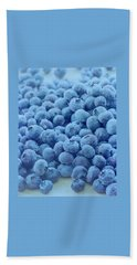 Blueberries Bath Towel
