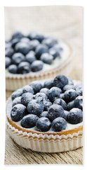 Blueberry Tarts Bath Towel