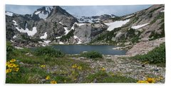 Bluebird Lake - Colorado Hand Towel