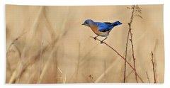 Bluebird Meadow Bath Towel