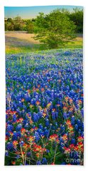 Bluebonnet Carpet Bath Towel