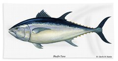 Bluefin Tuna Bath Towel