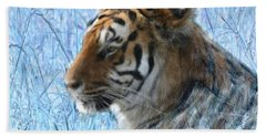 Bluegrass Tiger Bath Towel