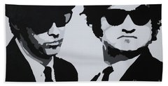Blues Brothers Bath Towel
